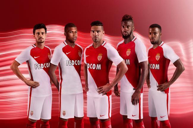 Maillot Domicile AS Monaco Adama TRAORE