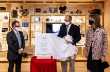 Inauguration de l'Institut audiovisuel de Monaco, 23 septembre 2020