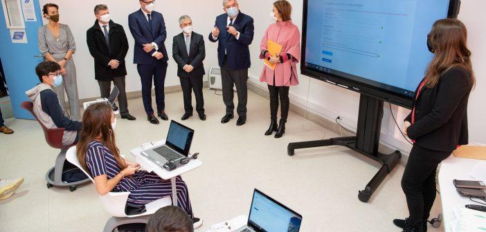 Lancement collège numérique ©Direction de la Communication-Manuel Vitali.jpg