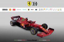 SF21 Ferrari Formule 1